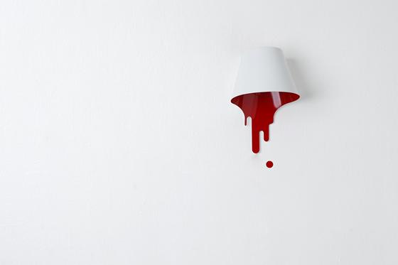 liquid lamp : bracket ( r ) by kouichi okamoto