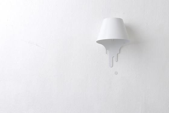 liquid lamp : bracket ( w ) by kouichi okamoto