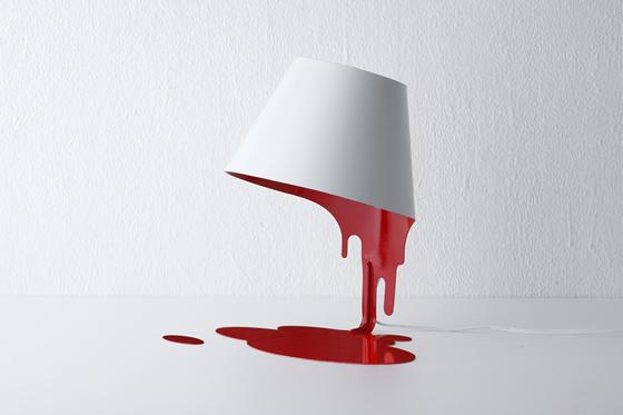 liquid lamp : table ( r ) by kouichi okamoto